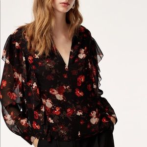 Aritzia Wilfred Lilas Blouse